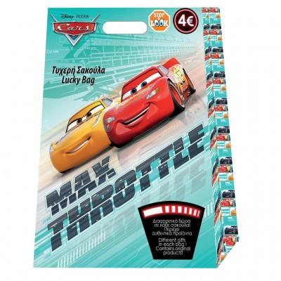Σακούλα Τυχερή Disney Cars 29x40x6 εκ.
